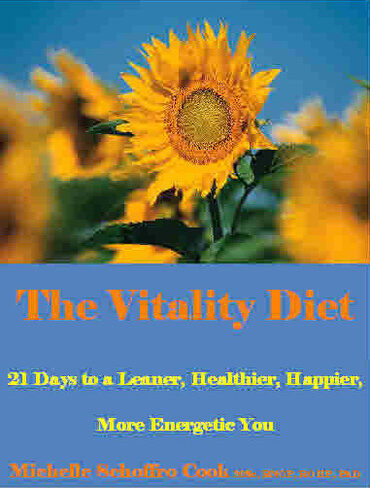 The Vitality Diet by best-selling author Dr. Michelle Schoffro Cook, PhD, DNM