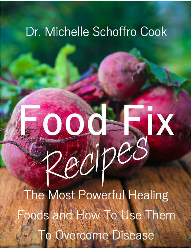 Food Fix Recipes by bestselling author Dr. Michelle Schoffro Cook